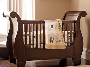 #Cuna para #bebé Sara, fabricación muebles a medida