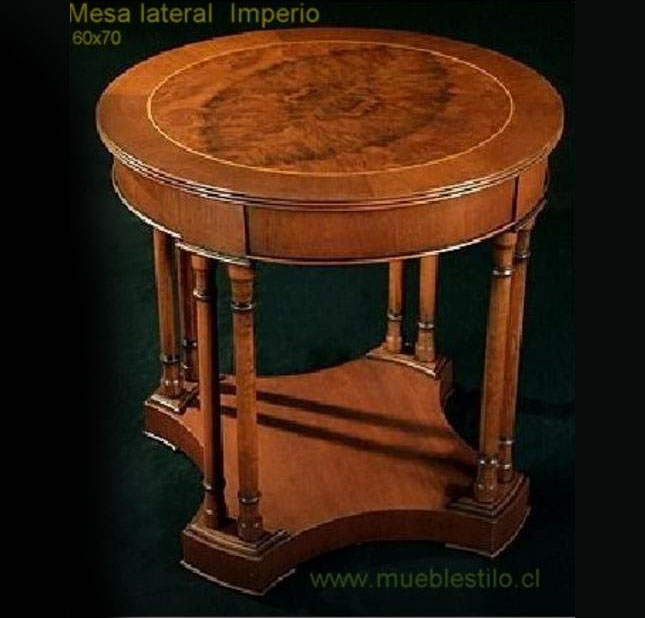 mesa lateral imperio