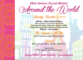 Around the World Sullins Benefit & Auction