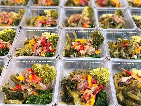 Dieta del Metabolismo Acelerado MENSUAL COMPLETO (4 comidas diarias)