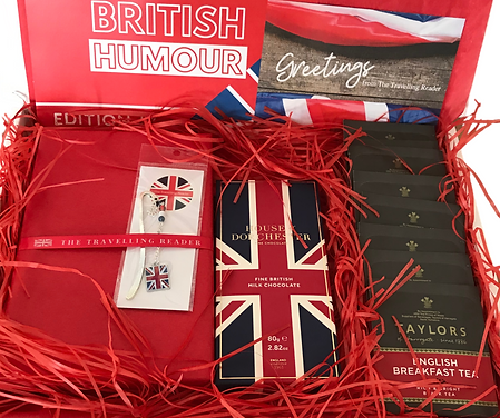 British book subscription club box