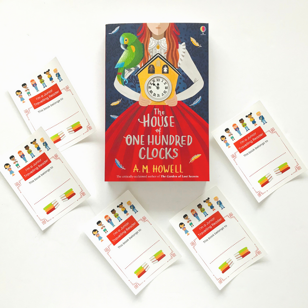 Set of 5 Bookplates