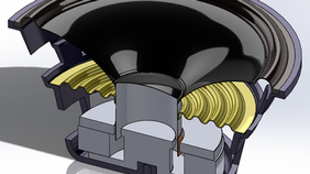 #006: A Loudspeaker Driver - CAD