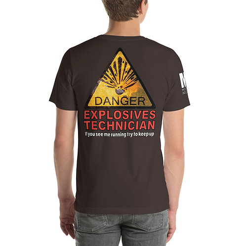 Short-Sleeve Unisex T-Shirt Explosives