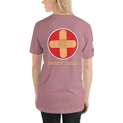 Short-Sleeve Unisex T-Shirt Safety