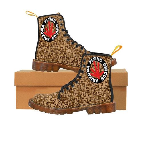 Men's Canvas Boots Brown