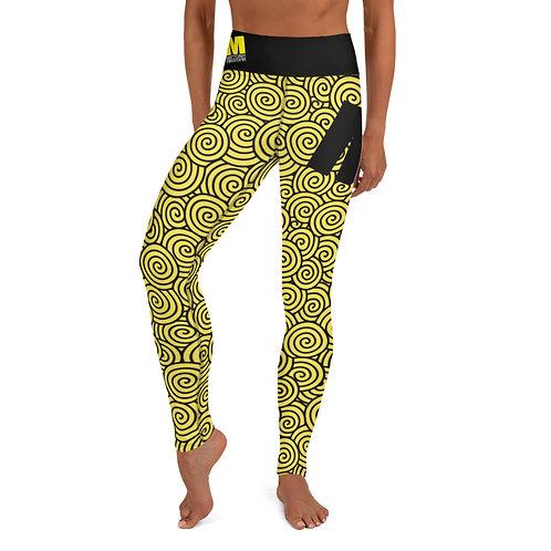 Yoga Leggings MoTown Yellow