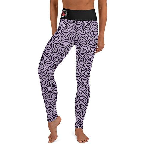 Yoga Leggings AFC Purple