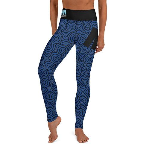 Yoga Leggings MoTown Dark Blue