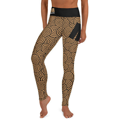 Yoga Leggings MoTown Nude