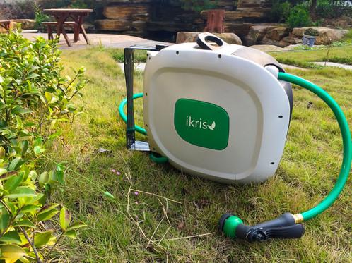 retractable garden hose reel 50 foot hose 58 diameter - Retractable Garden Hose Reel
