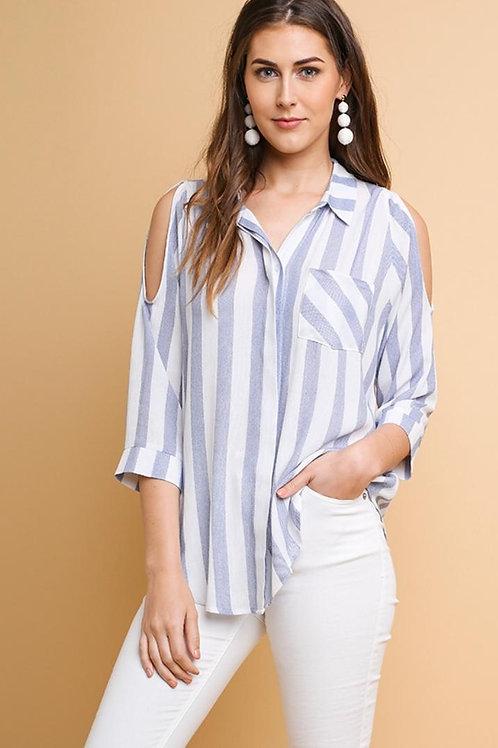 Summer Lovin Blue Stripe