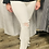 Thumbnail: Fray Waist White Distressed Bell Jeans