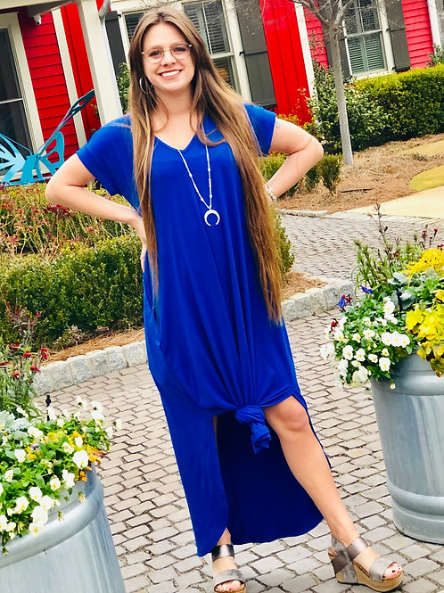 Royal Maxi Dress