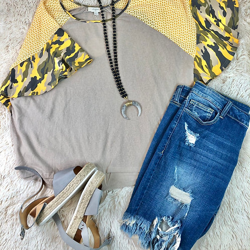 Camo Stone Shirt