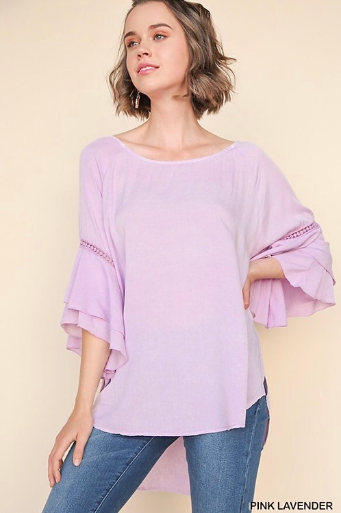 Gorgeous Lavender Flow Top