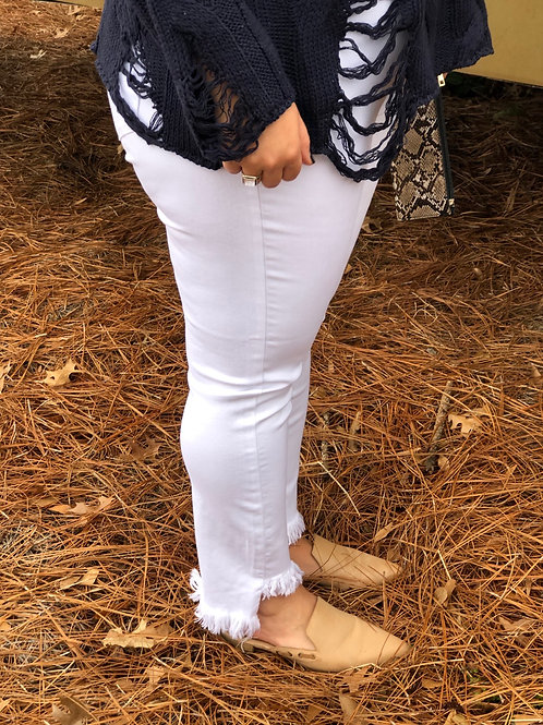 White Comfort Stretch Jeans