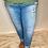 Thumbnail: High Rise Cuffed Jeans