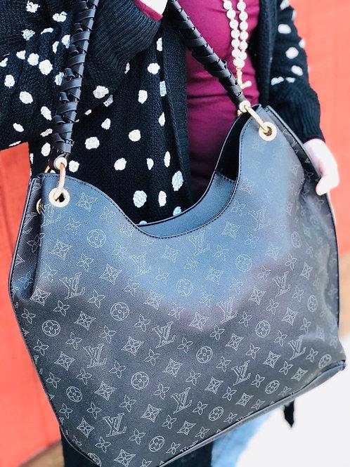Inspired Classy Black Love Bag #1