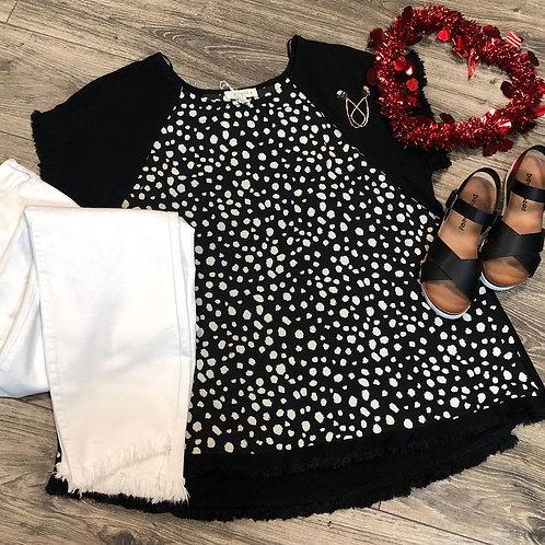 Black Dalmatian