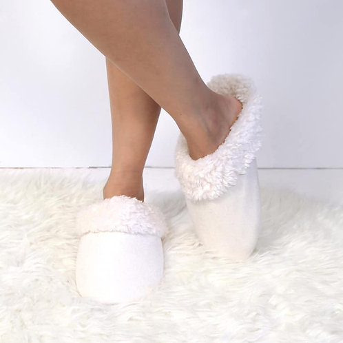 Cute White House Slippers