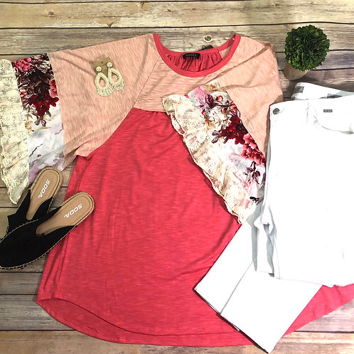 To Die For Coral Top