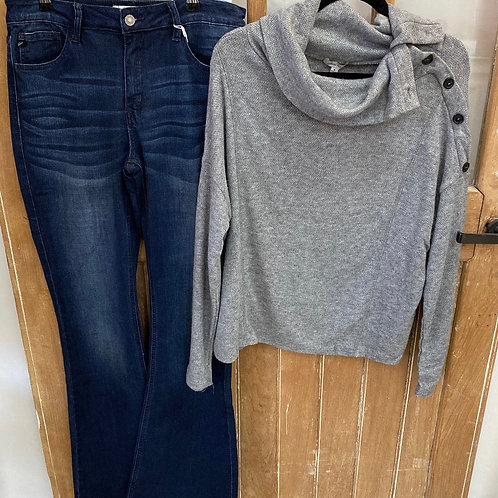 Kancan Flare Leg Jeans