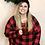 Thumbnail: Red Plaid Pajama Set
