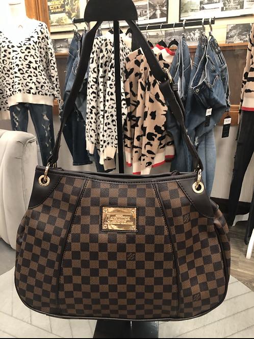 Inspired checkered Dark bag #5
