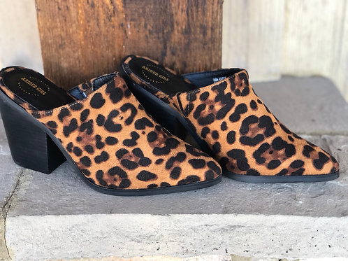 Rider Girl Leopard Shoe