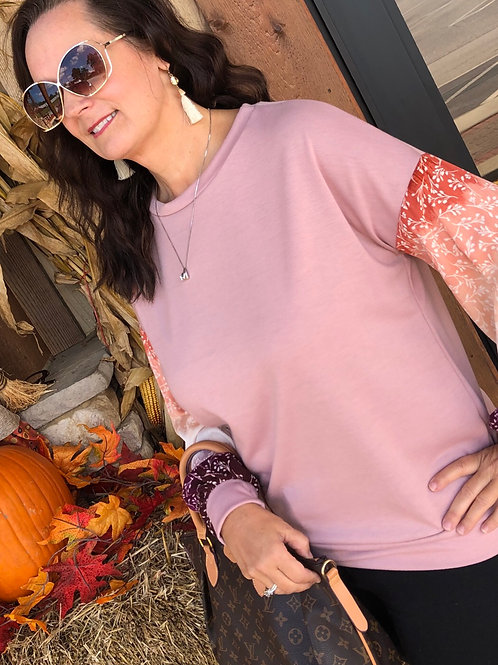 This Feeling Mauve Top
