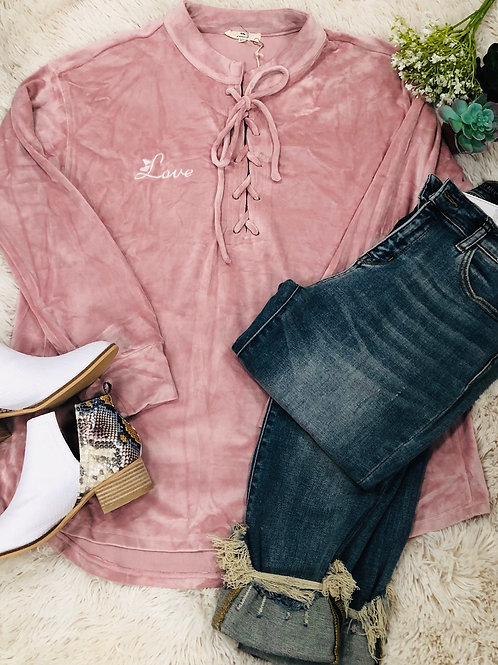 Pink Velour Love