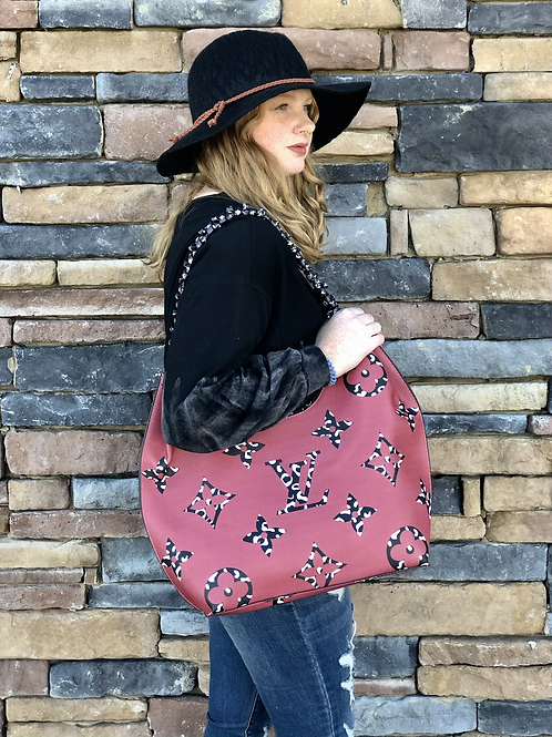 Inspired Red/BlackPurse