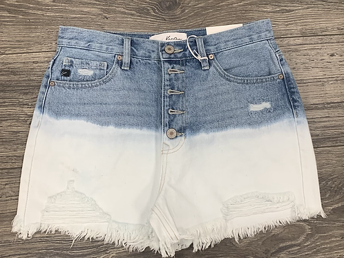 Bleach Wash Shorts