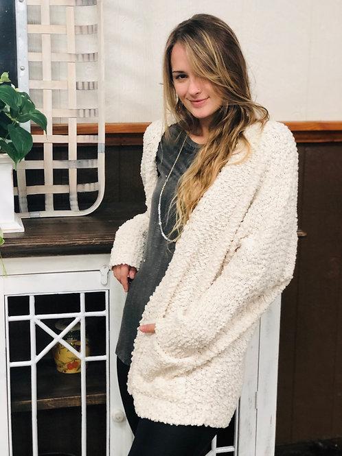 Cardigan Sweater (Cream)