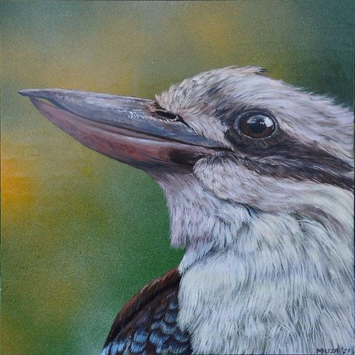 ACRYLIC PAINTING - Kookaburra 1