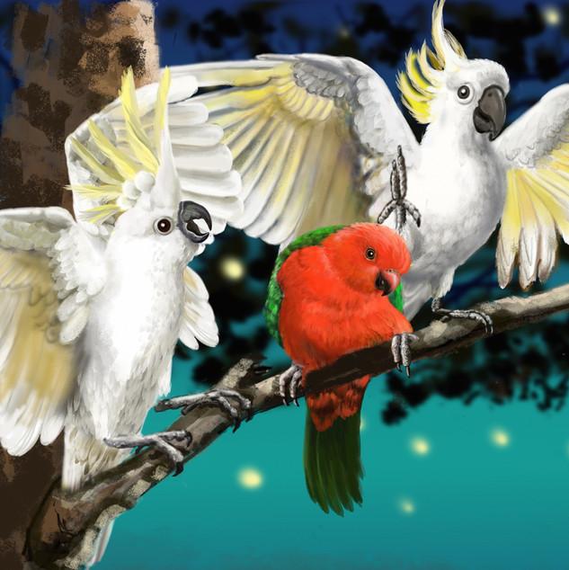King Parrot & Friends