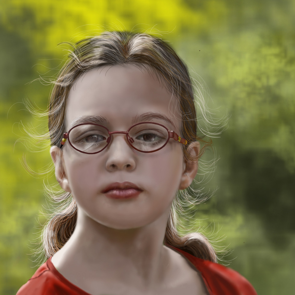 Portrait of Celeste