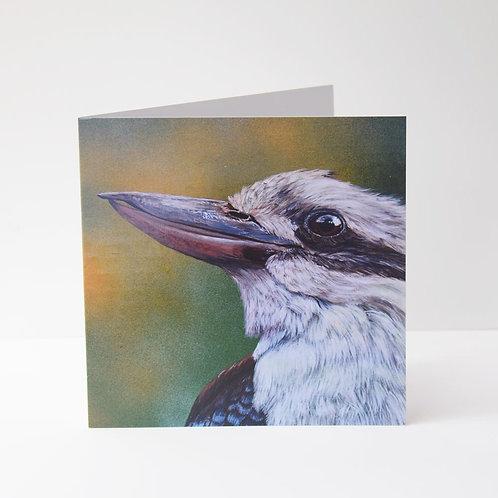 AUSTRALIANA GREETING CARD - Kookaburra 1