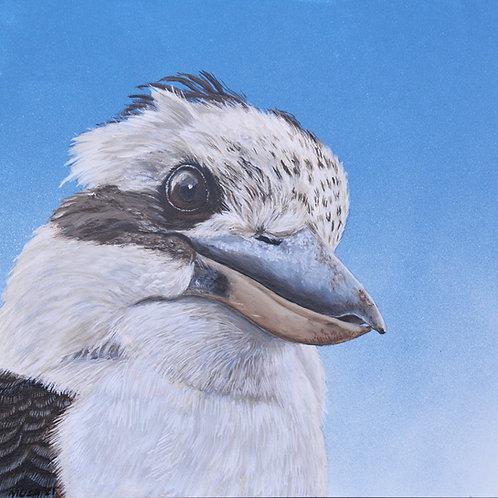 ACRYLIC PAINTING - Kookaburra 2