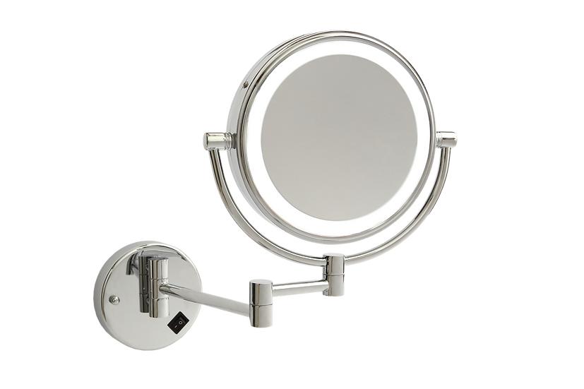 1&5x Magnification Mirror with Light