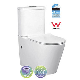 Back to Wall Tornado Toilet Suite Universal Inlet