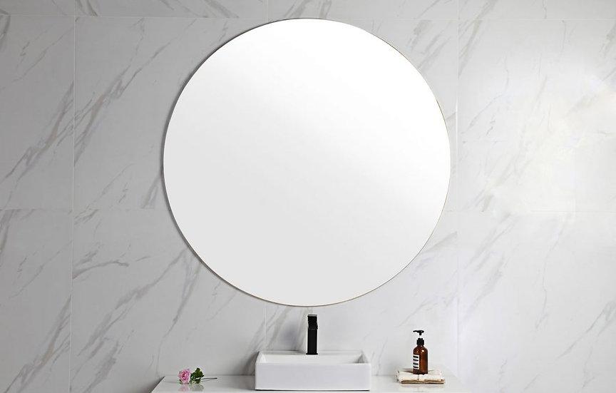 Alina Framless Round Mirror 600mm
