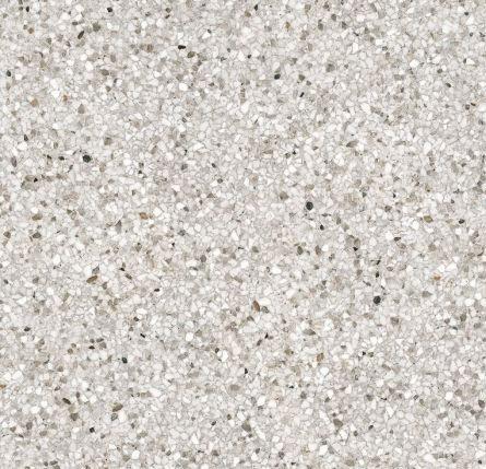 Stony Terrazzo White Matt 600x600 Porcelain Tile