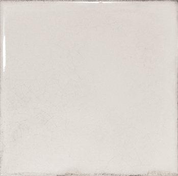 Spanish Gloss White Decor Tile 150x150