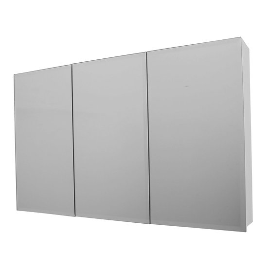 Florence 1200x750mm Mirror Cabinet White