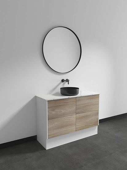 Marcella Custom Range 1200mm Vanity Single Basin with Flat Stone Top