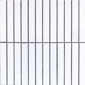 Kit Kat Mosaic 15x145mm Sheet Matt White