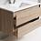 Thumbnail: Woodgrain Wall Hung Vanity 750mm