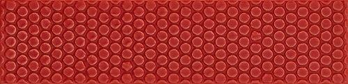 Italian Subway Tile Red Textured 75x300
